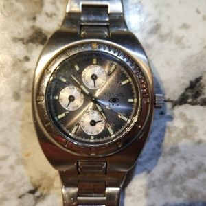 Vintage Men's Fossil Blue Watch
